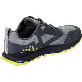 Altra Lone Peak All Weather Low-Cut Schuhe Herren gray/lime